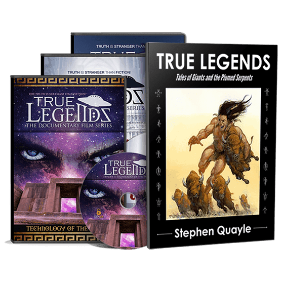 True Legends DVD Trilogy and Book pack
