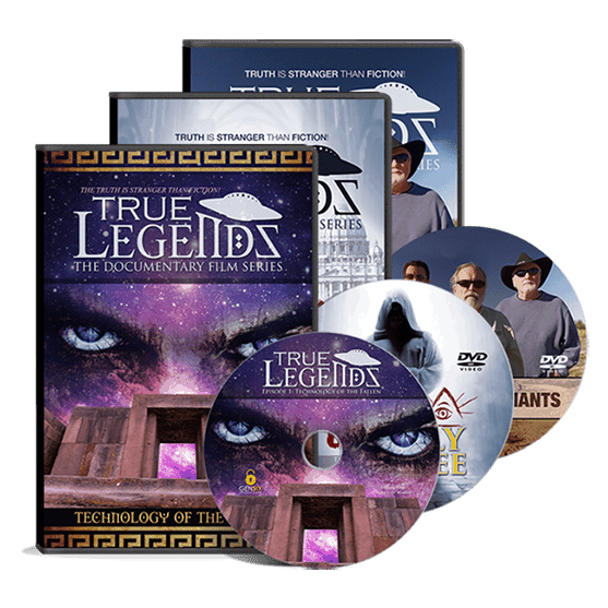 True Legends DVD Trilogy pack