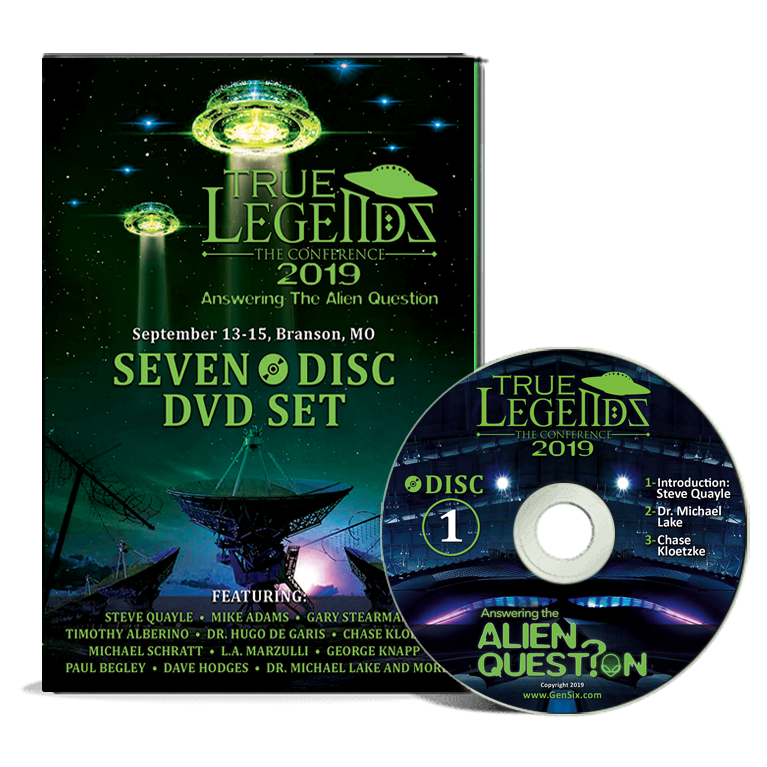 2019 True Legends Conference - DVD Set