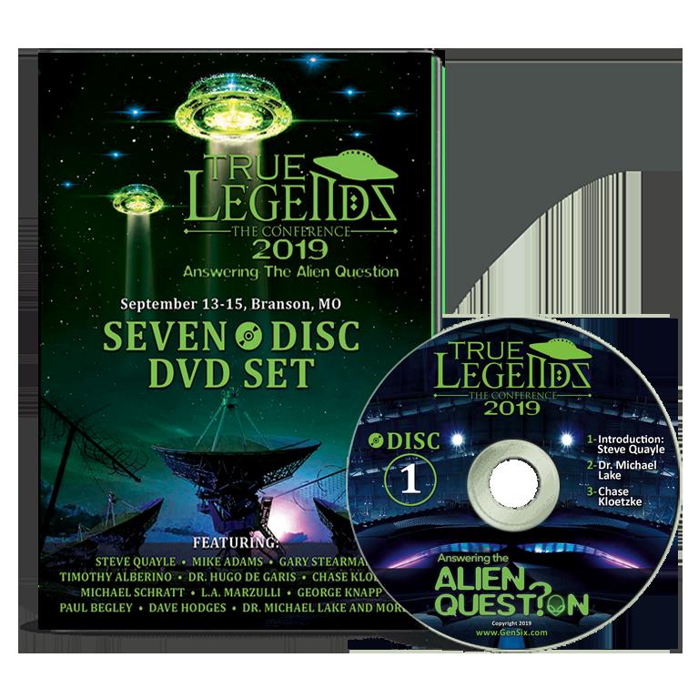 2019 True Legends Conference - DVD Set