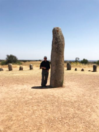 Large Menir or Standing Stone at Zeres