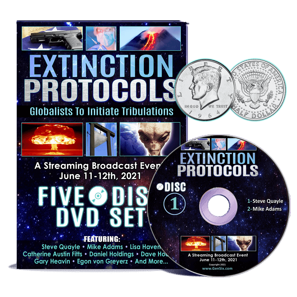 Extinction Protocols 2021 DVD set