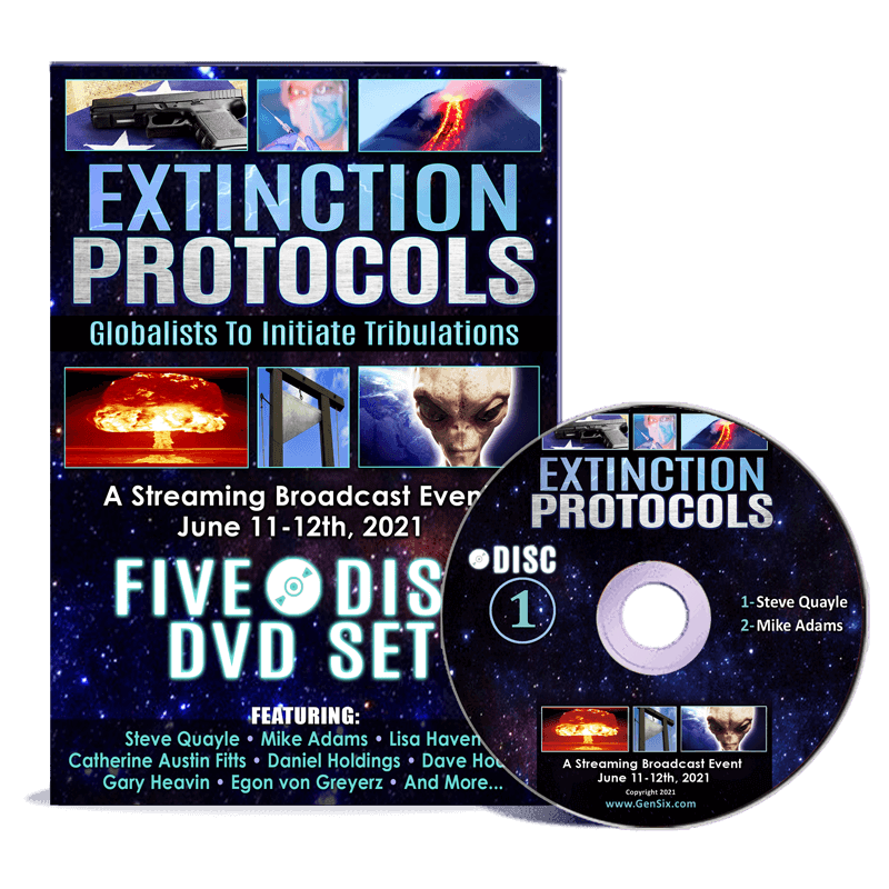 Extinction Protocols DVD set